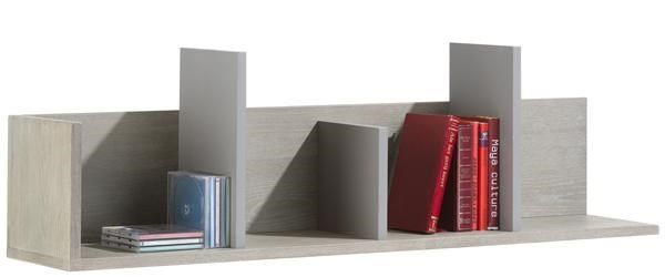 Avola, wandplank 4-niches - 120 cm